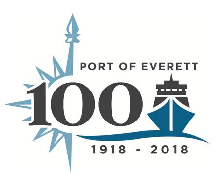 Port of Everett Centennial Logo